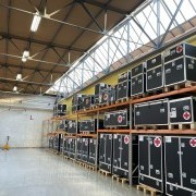 UTILIS made the first deliveries for the Belgian field hospital