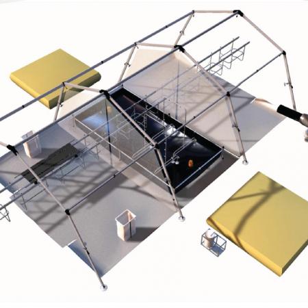 The modular decontamination chain