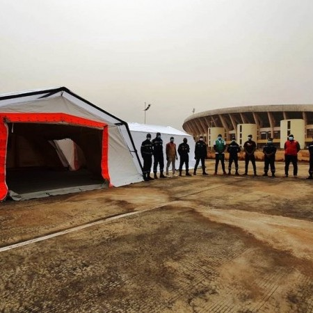 UTILIS shelter deployed agains EBOLA