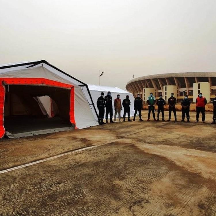 UTILIS shelter deployed agains EBOLA