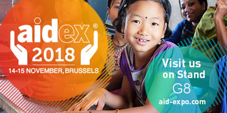 Aidex – 14 & 15 November 2018 – Brussels