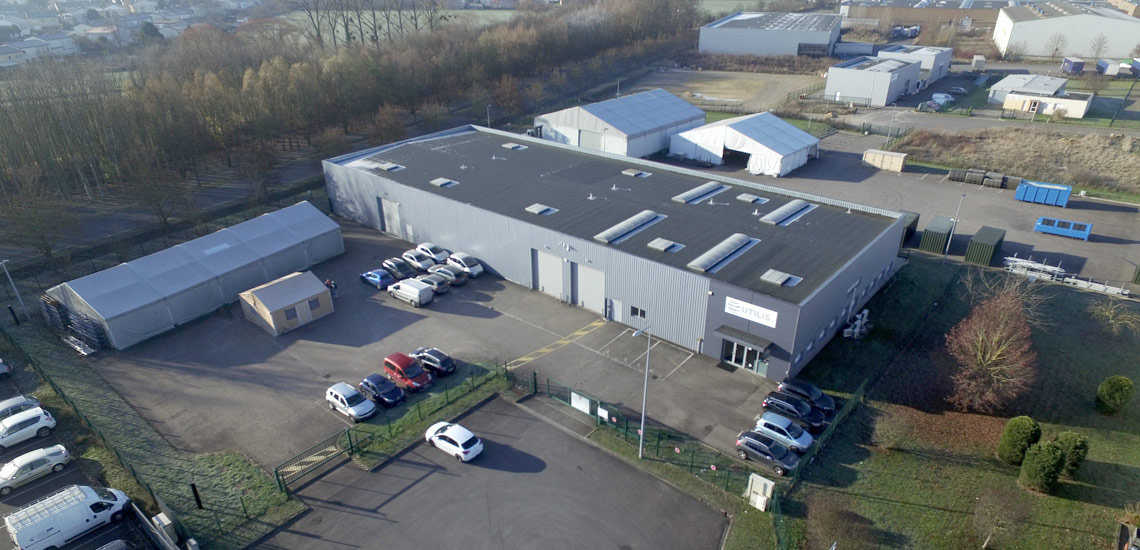 UTILIS SAS is headquartered in Ennery, 20 km from Metz and 50 km from Luxembourg.